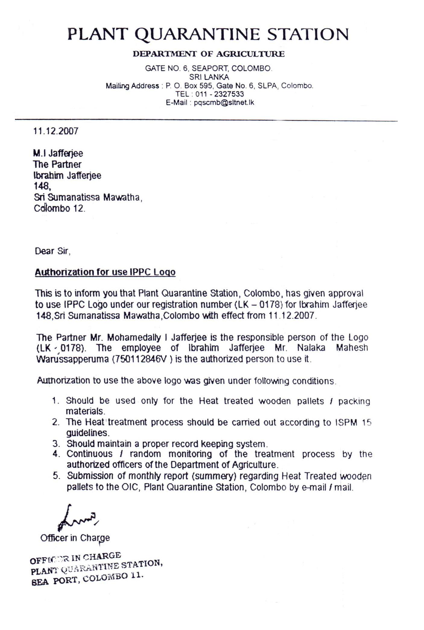 IPPC Certification